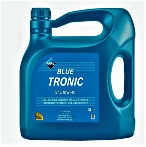 ΛΑΔΙ ΚΙΝΗΤΗΡΑ ARAL 10W-40 BLUE TRONIC 4L