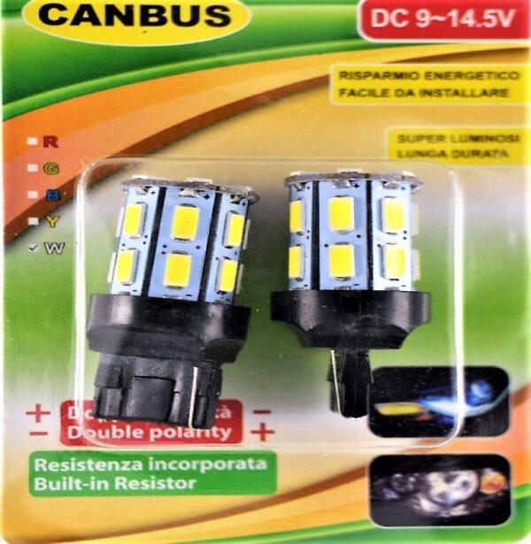 Τ10 LED ΛΑΜΠΑ CANBUS ΣΕΤ 2/ΤΕΜ DC9-14.5V