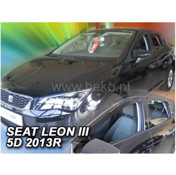 ΑΝΕΜΟΘΡΑΥΣΤΕΣ HEKO SEAT LEON III 5D 2013R 4/TEM ΕΜΠΡΟΣ ΚΑΙ ΠΙΣΩ