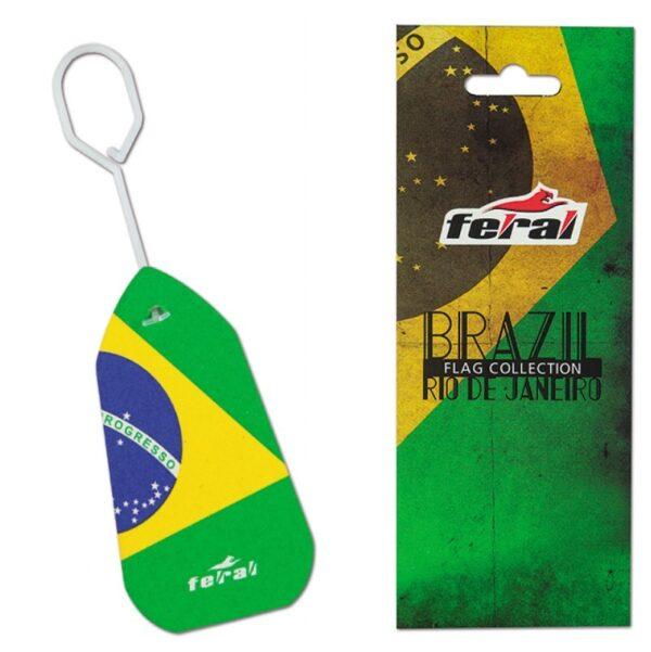 ΑΡΩΜΑΤΙΚΟ ΑΥΤΟΚΙΝΗΤΟΥ ΚΡΕΜΑΣΤΟ FLAG BRAZIL