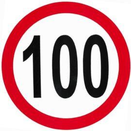ΣΗΜΑ ΤΑΧΥΤΗΤΑΣ ΑΥΤΟΚΟΛΛΗΤΟ 100 ΑΠΛΟ ΣΠ 504